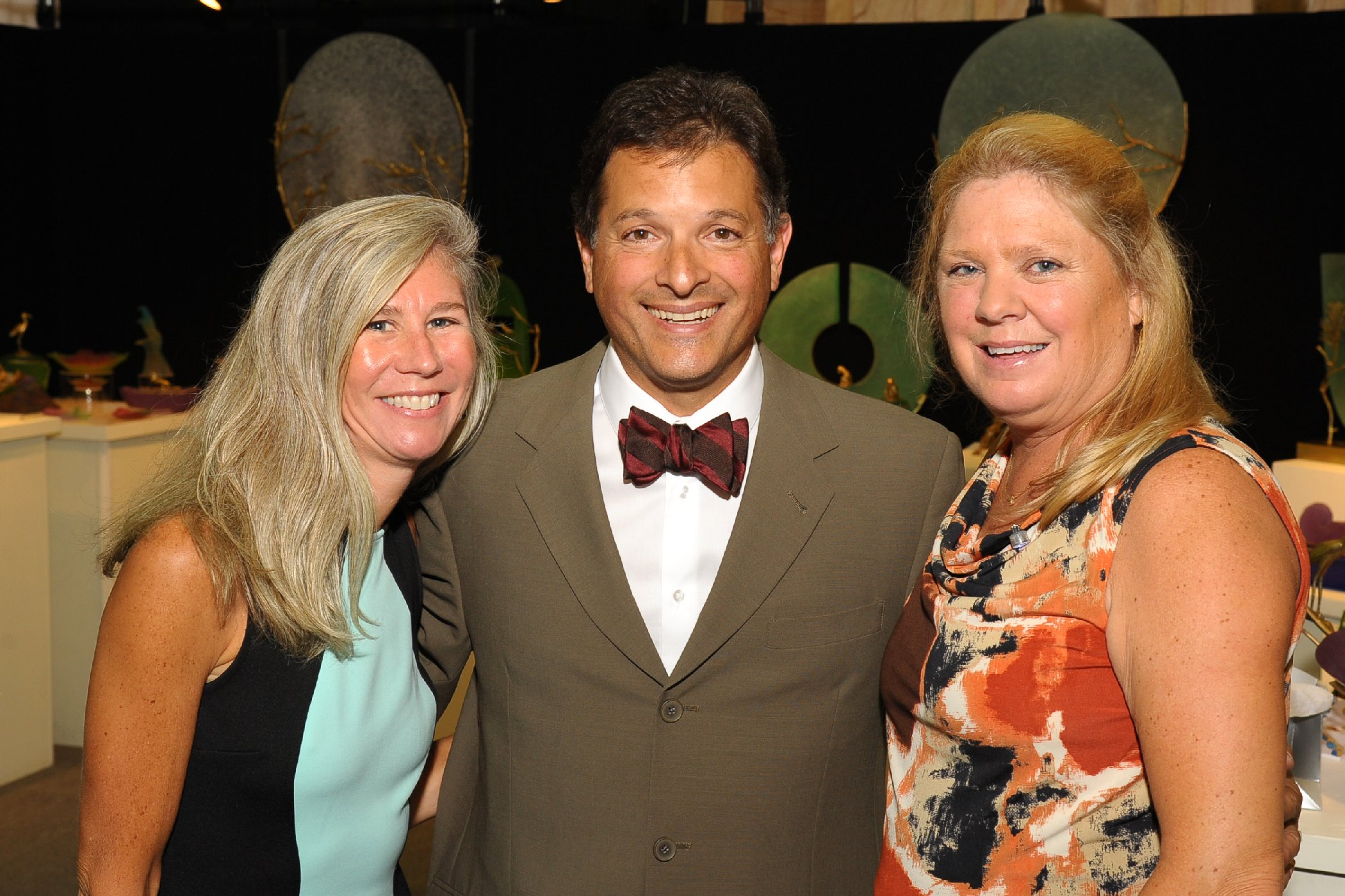 2014 ACE Co-Chair Susan White, Gustavo Rodriguez, MD, NorthShore University HealthSystem, and 2014 ACE Co-Chair Debbie Hulick